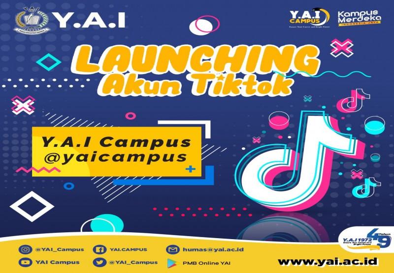 Launching Akun Tiktok
