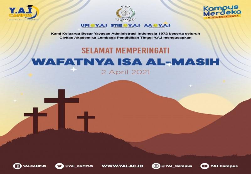 Memperingati Wafatnya Isa Al- Masih