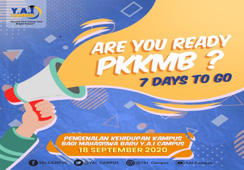 Pengenalan Kehidupan Kampus Bagi Mahasiswa Baru (PKKMB) 2020