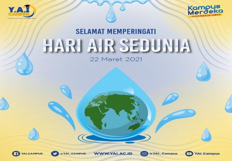 Selamat Hari Air Sedunia (World Water Day)
