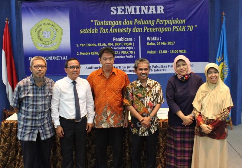Seminar Pajak - Pasca Tax Amnesty