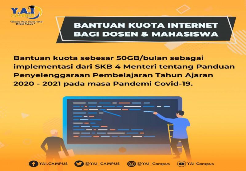 Bantuan Kuota Internet bagi Dosen dan Mahasiswa