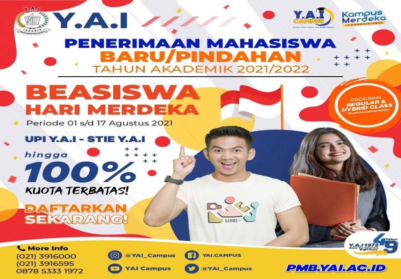 Beasiswa Hari Merdeka Y.A.I Untuk Indonesia