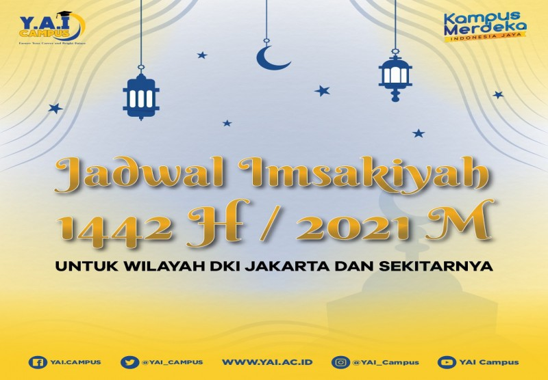 Jadwal Imsakiyah Ramadhan 1442 H