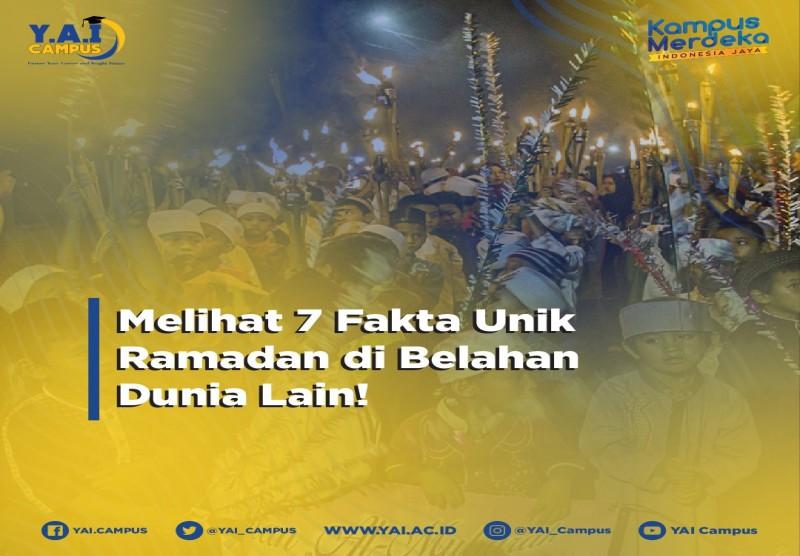 Melihat 7 Fakta Unik Ramadhan di Belahan Dunia Lain
