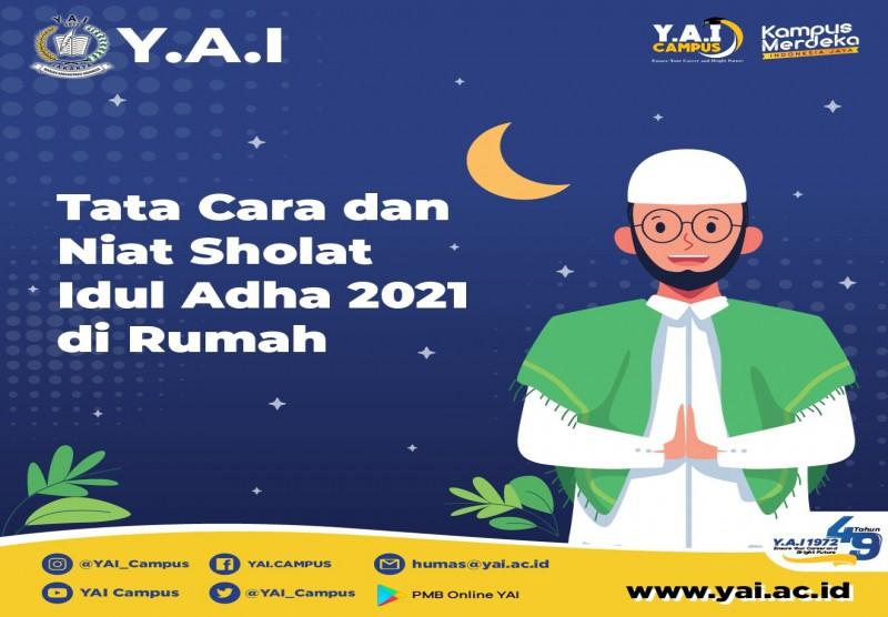 Tata Cara dan Niat Sholat Idul Adha 2021 di Rumah