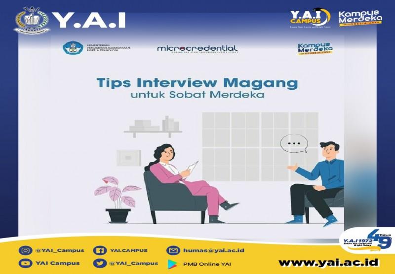 Tips Interview Magang untuk Sobat Merdeka